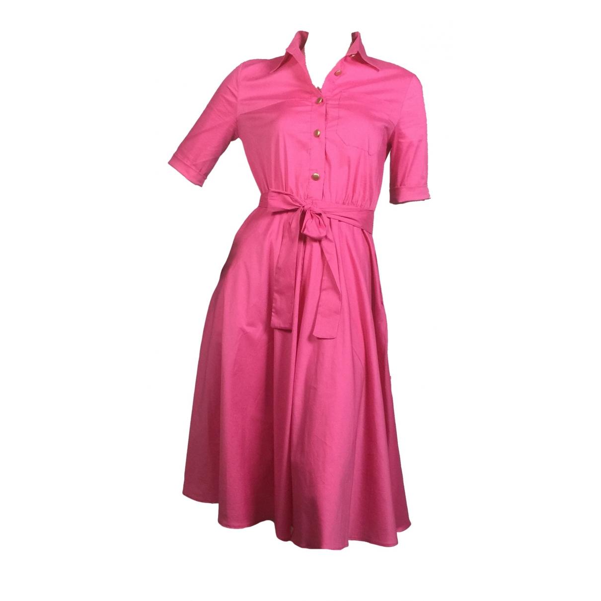 Imperial \N Kleid in  Rosa Baumwolle