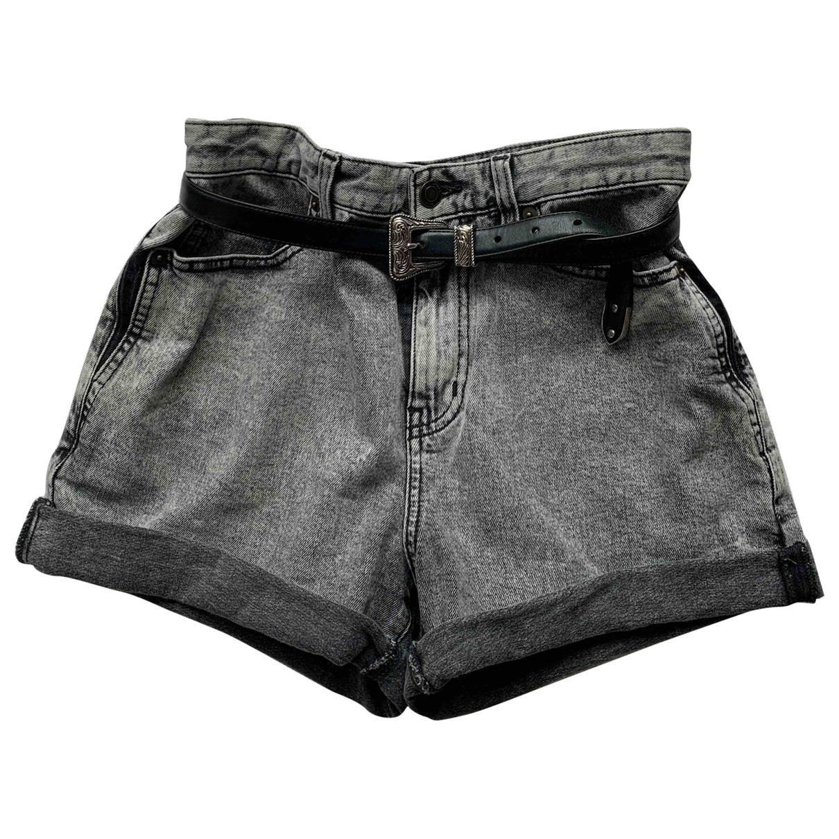 Saint Laurent \N Shorts in  Grau Baumwolle