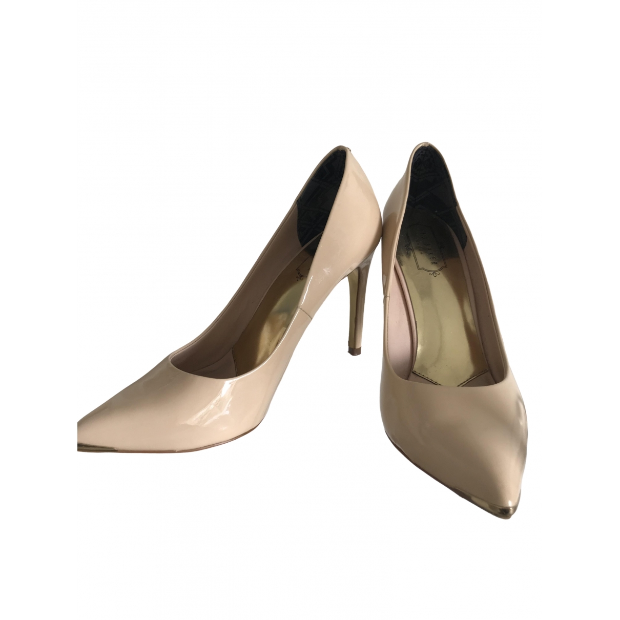 Ted Baker \N Beige Leather Heels for Women 40 EU