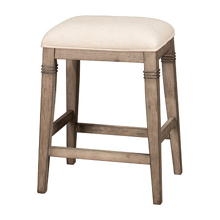 Arabella Backless Stool, One Size , Gray