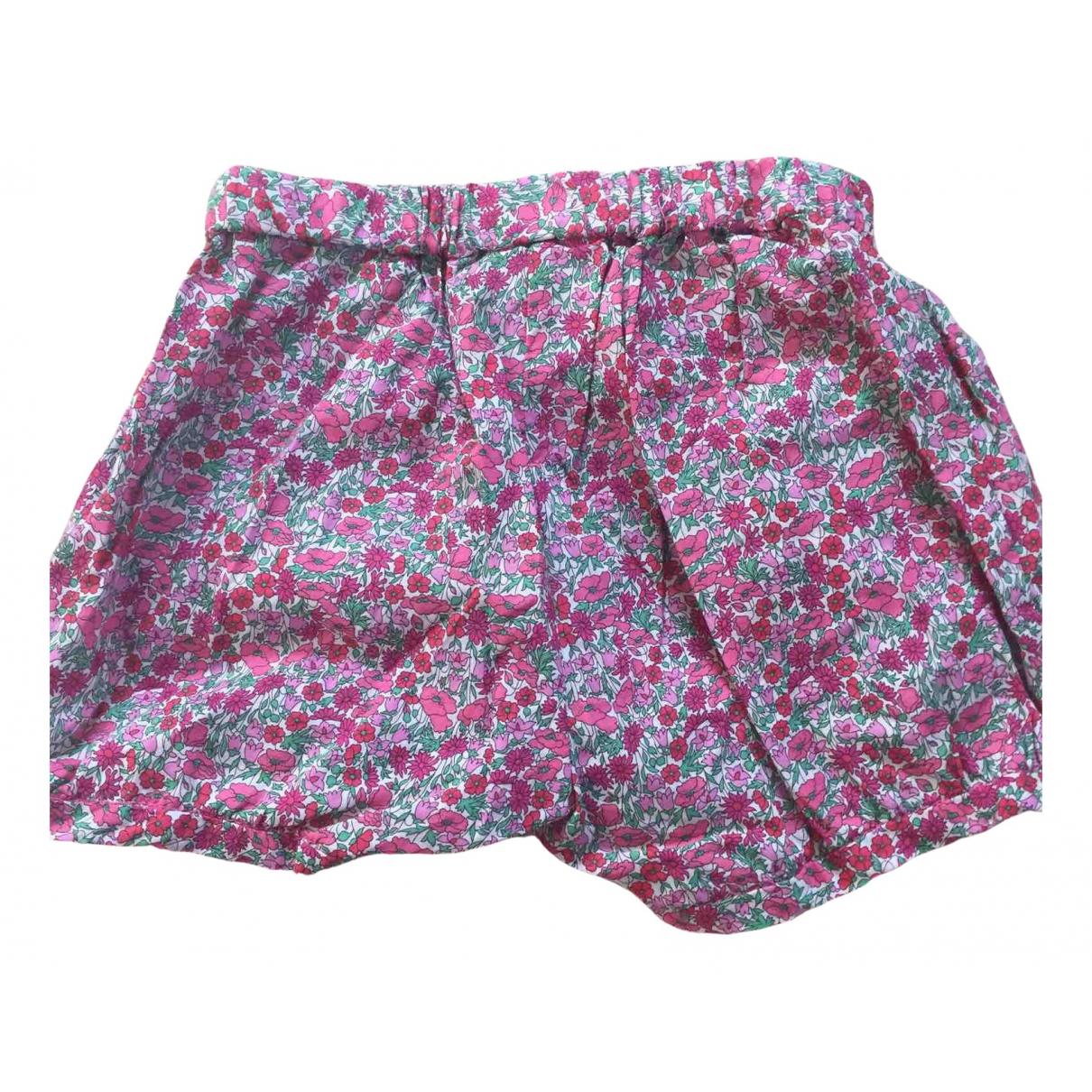 Jacadi \N Shorts in  Rosa Baumwolle