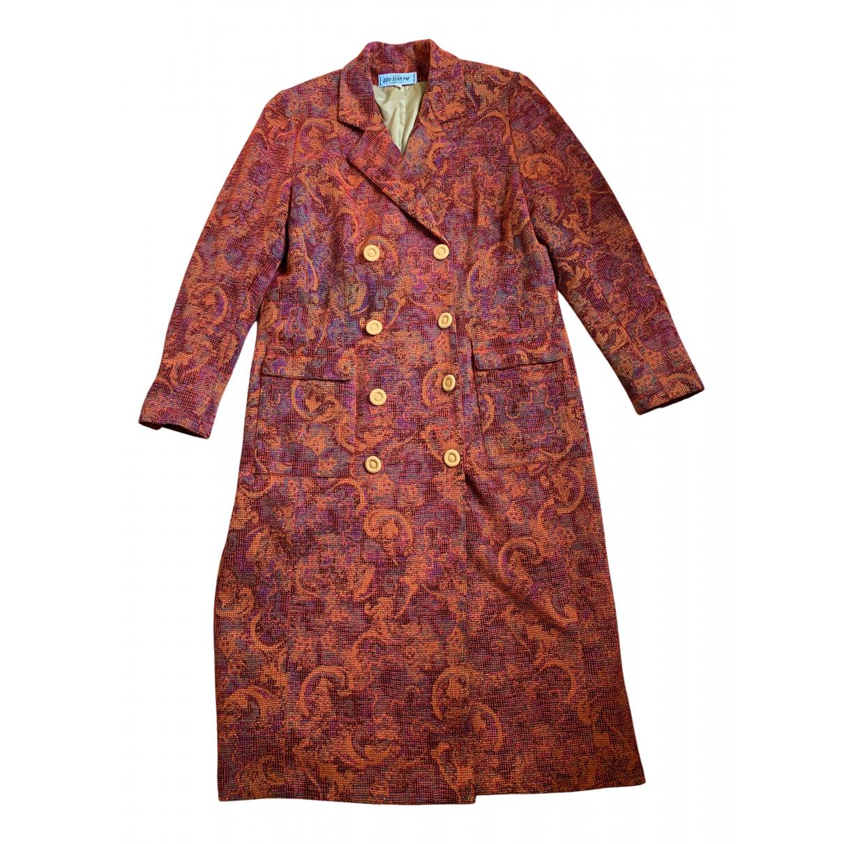 Non Signé / Unsigned N Multicolour coat for Women 44 FR
