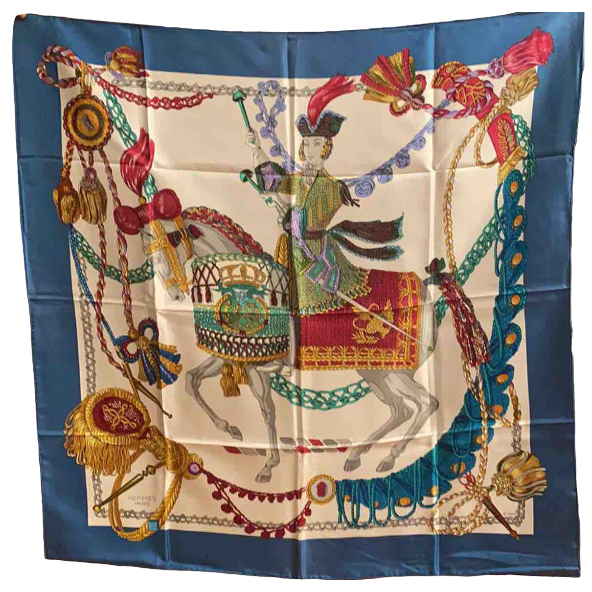 Hermès Carré 90 Multicolour Silk Silk handkerchief for Women N