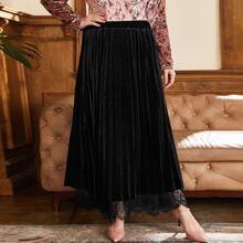 Faldas Extra Grande Tablas Liso Elegante