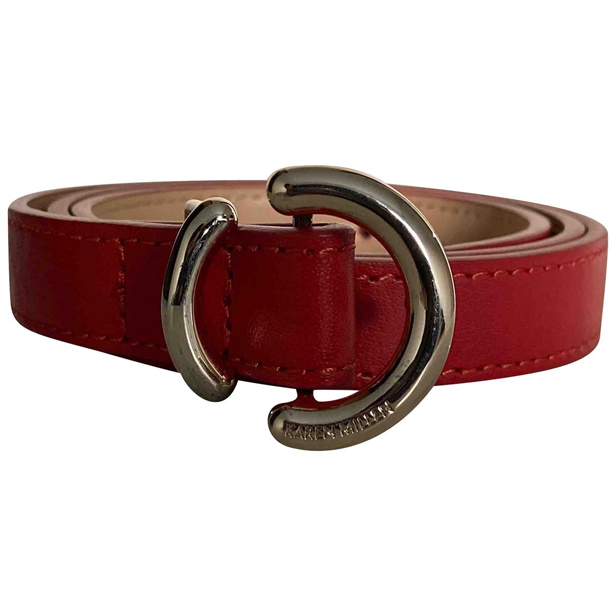 Cinturon de Cuero Karen Millen