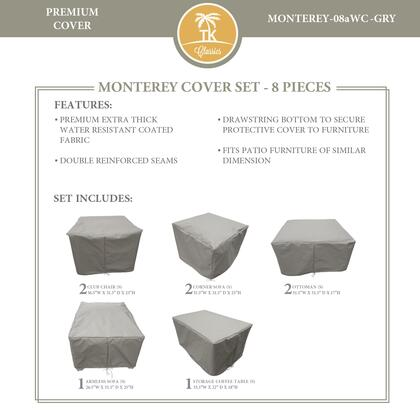 MONTEREY-08aWC-GRY Protective Cover Set  for MONTEREY-08a in