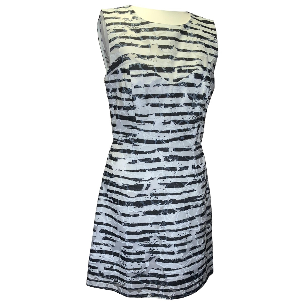 Milly \N Navy Cotton dress for Women 4 US