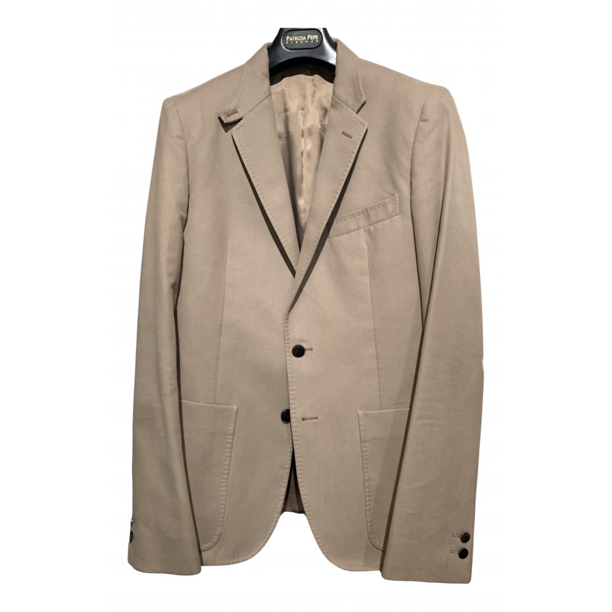 Balenciaga - Vestes.Blousons   pour homme en coton - beige