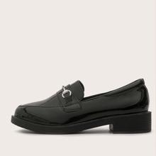 Loafers mit Horsebit Dekor