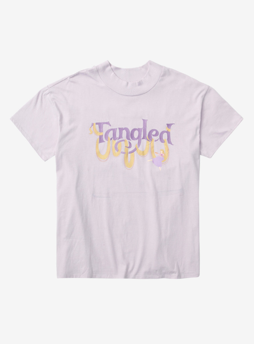 Our Universe Disney Tangled Hair Mock-Neck T-Shirt - BoxLunch Exclusive