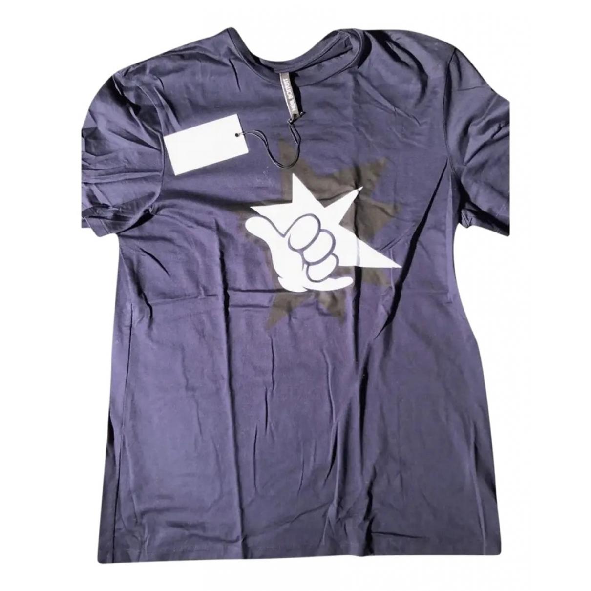 Neil Barrett - Tee shirts   pour homme en coton - bleu