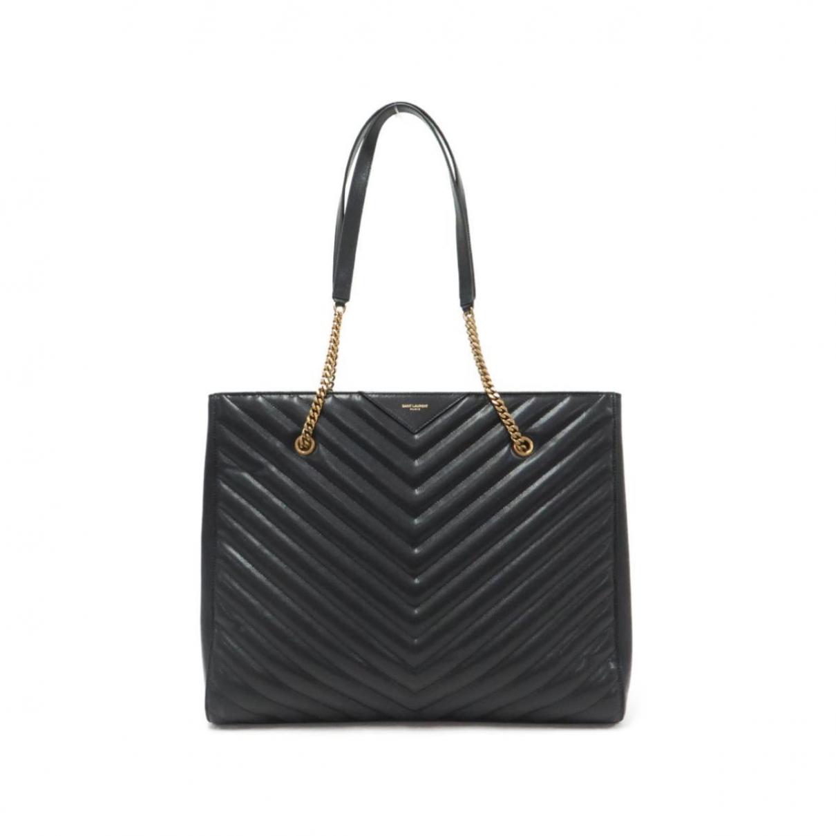 Saint Laurent Tribeca Black Leather handbag for Women \N
