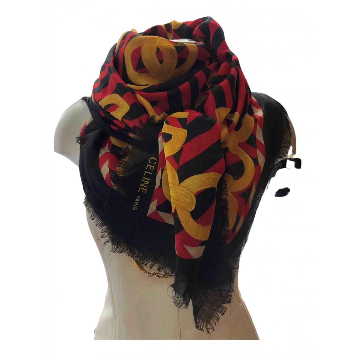 Celine - Foulard   pour femme en laine - rouge