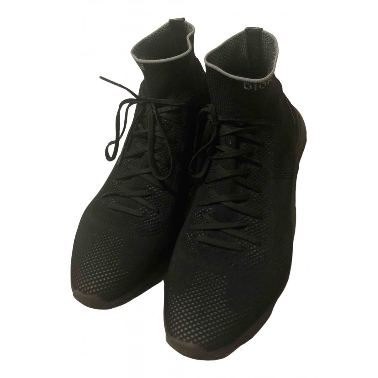 Dior Homme - Baskets B21 socks pour homme - noir