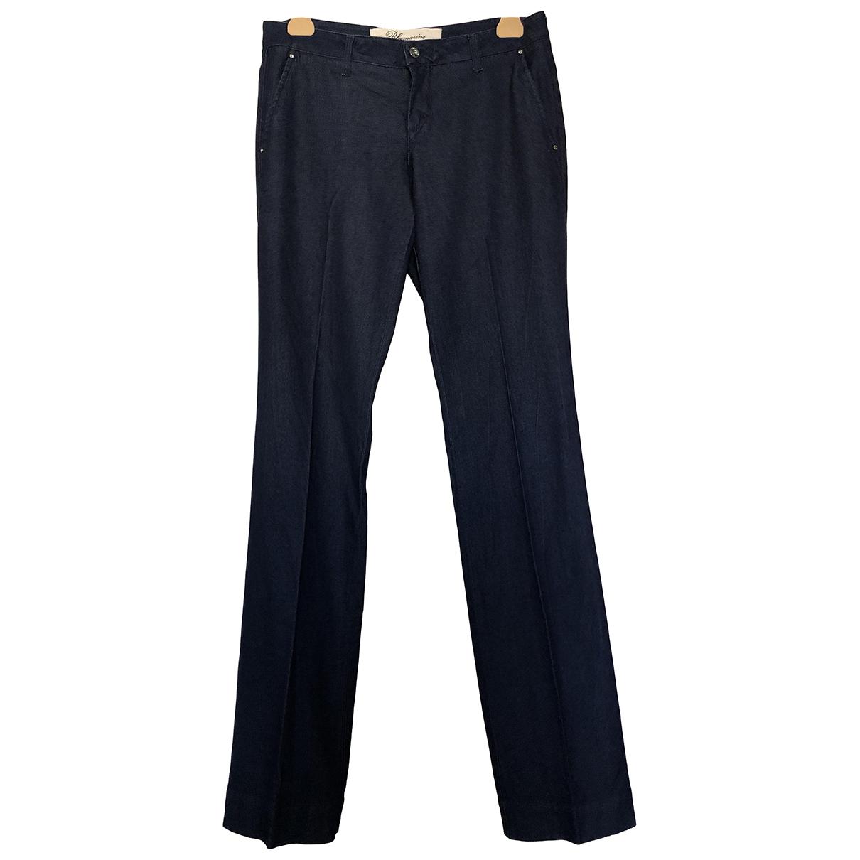Blumarine N Blue Denim - Jeans Trousers for Women 44 IT