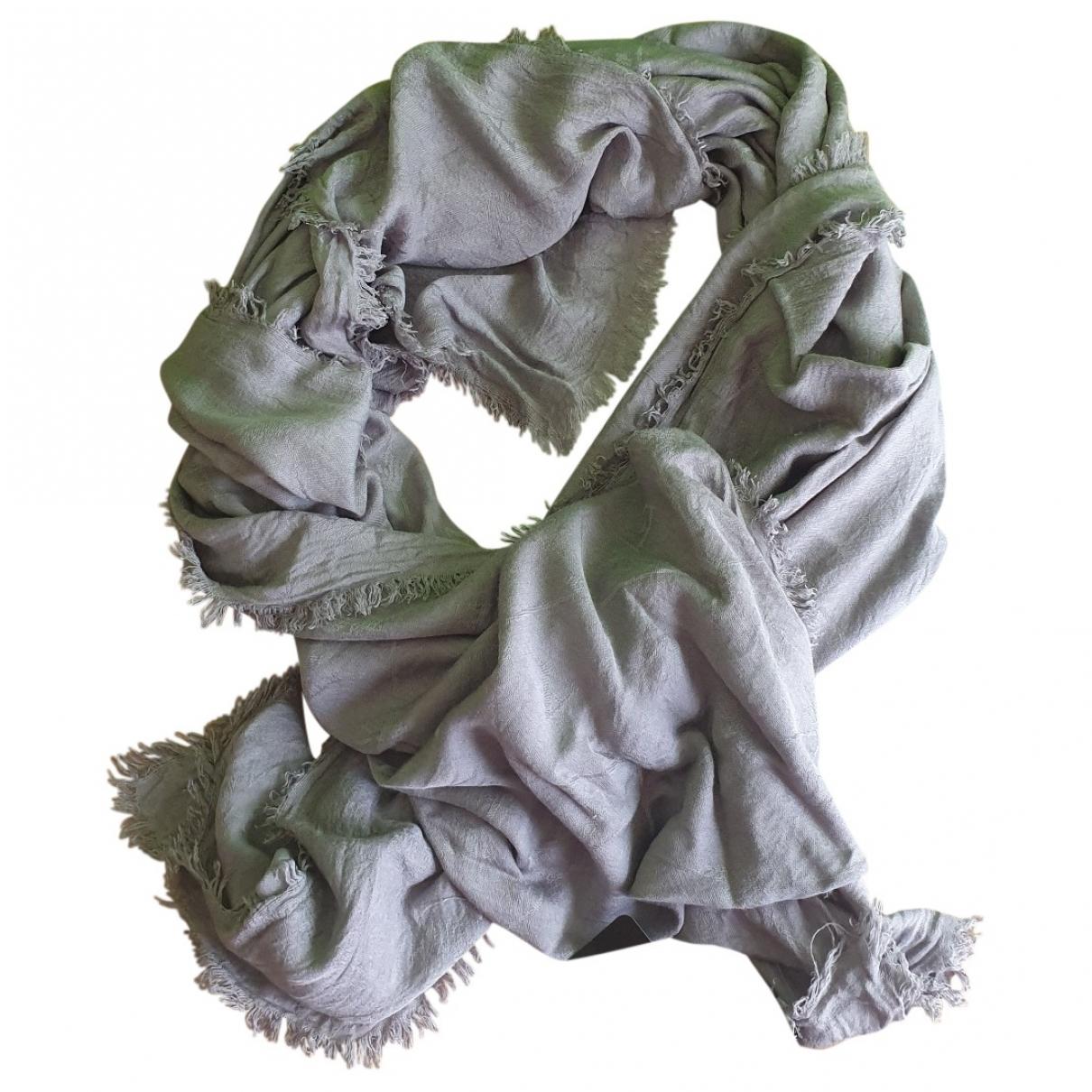 Emporio Armani \N Schal in  Grau Viskose
