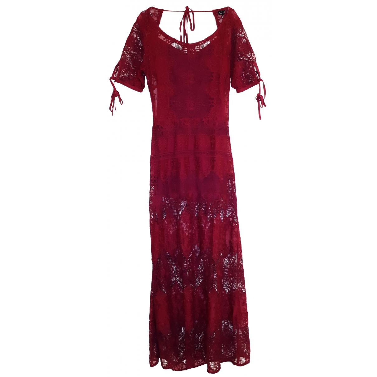 For Love & Lemons \N Red Lace dress for Women M International