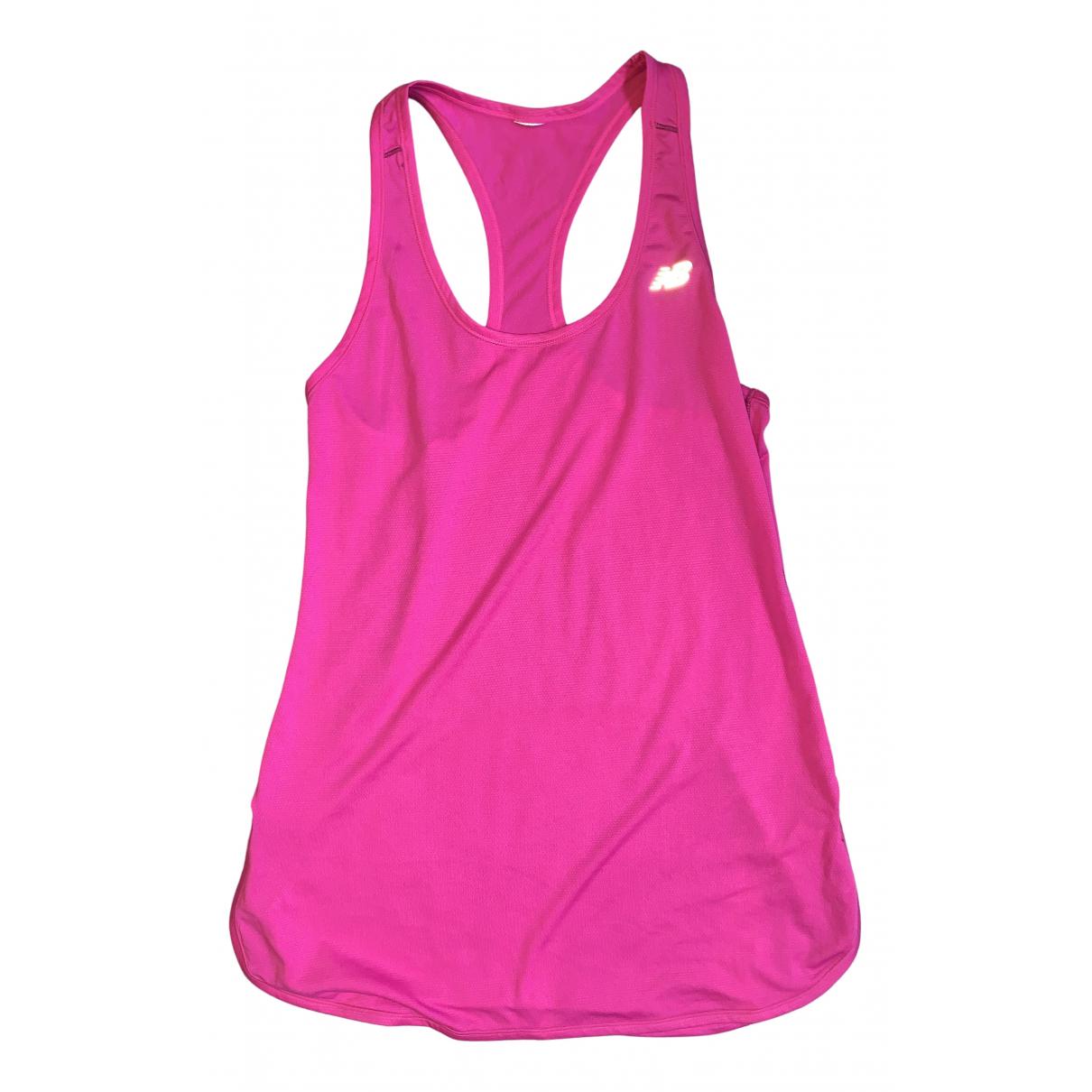 New Balance - Top   pour femme - rose