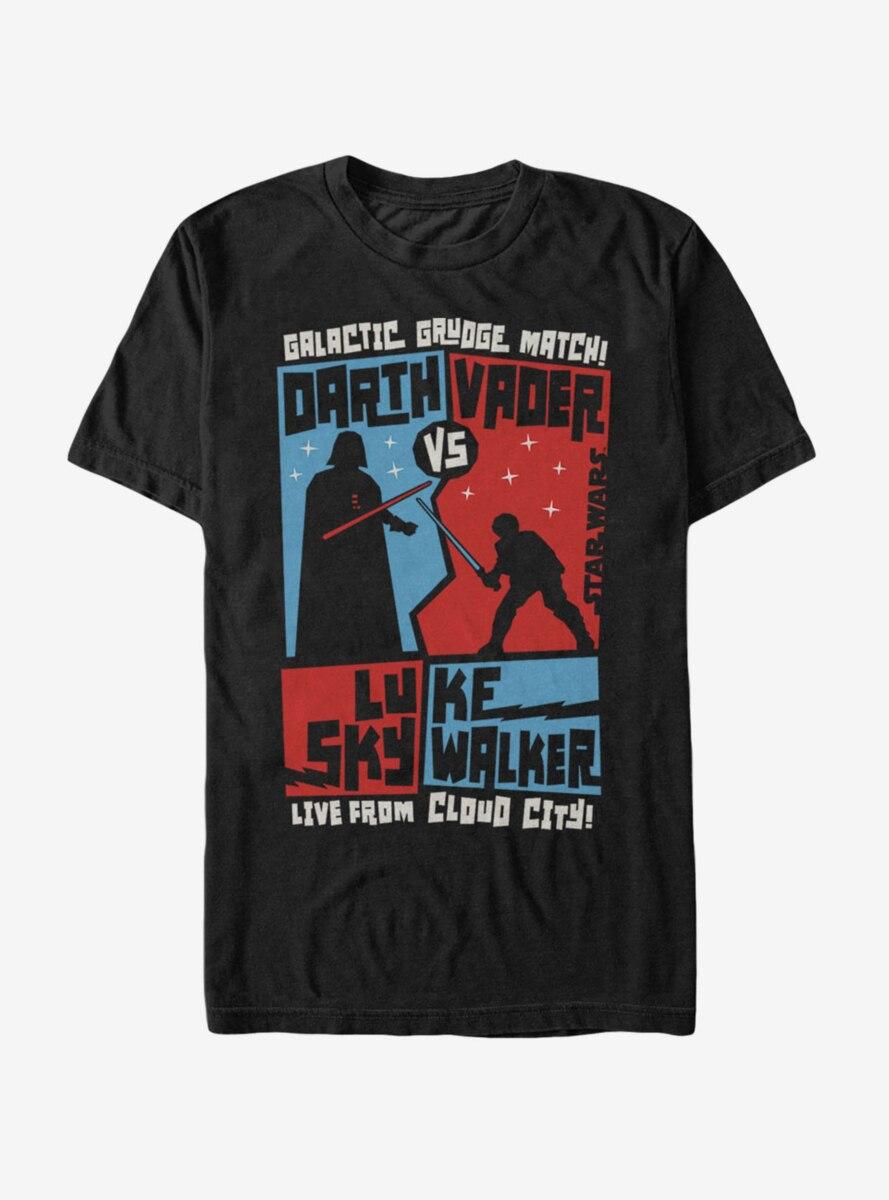 Star Wars Vader and Luke Grudge Match T-Shirt