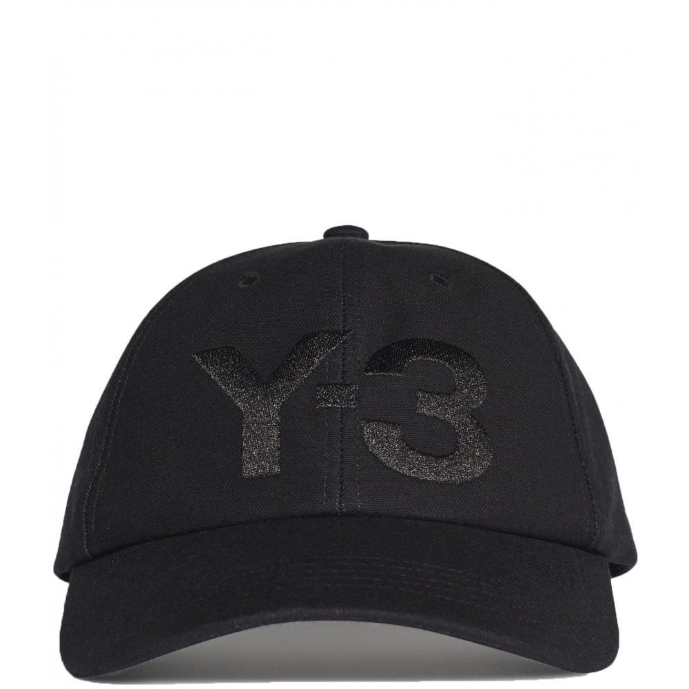 Y-3 Logo Cap Colour: BLACK, Size: ONE SIZE