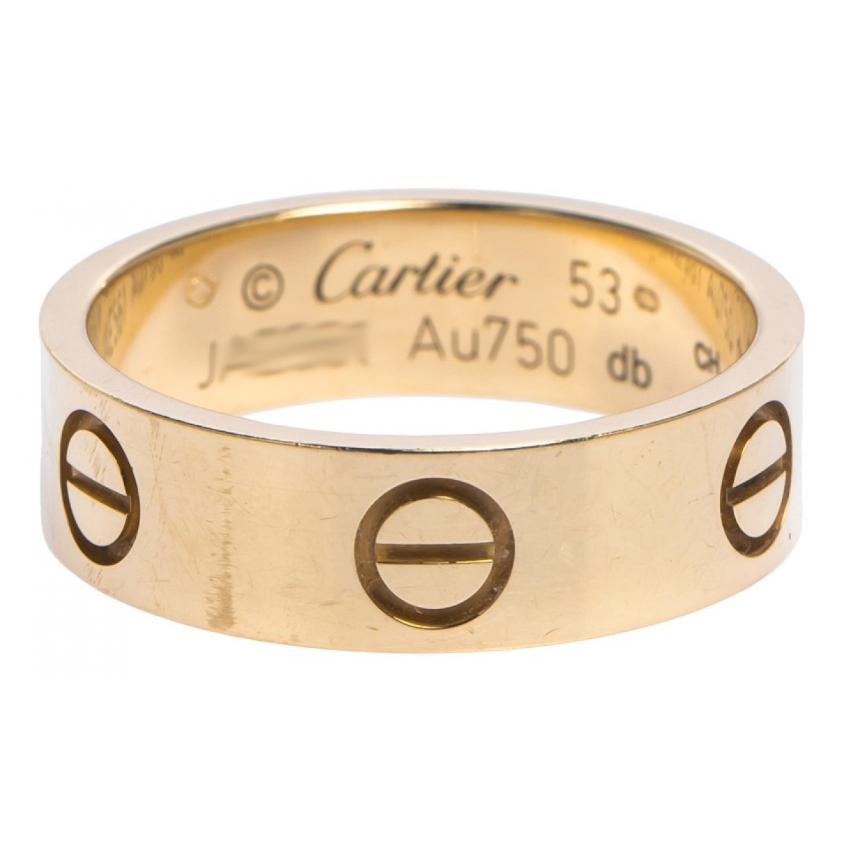 Cartier Love Ring in Gelbgold