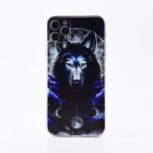 iPhone Schutzhuelle mit Wolf Muster