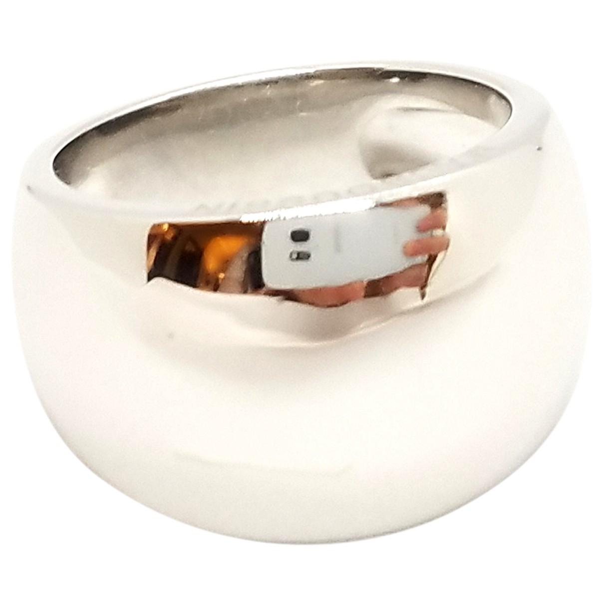 Mauboussin \N Silver White gold ring for Women 54 EU
