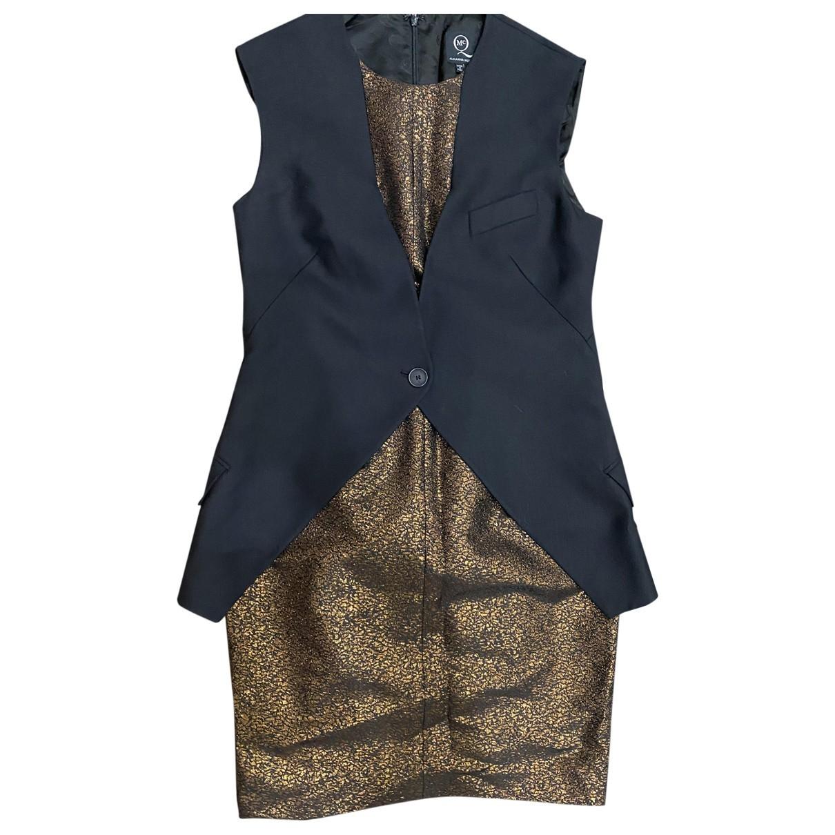 Mcq \N Kleid in  Schwarz Wolle