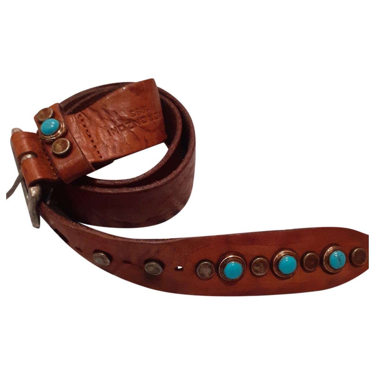 Cinturon de Cuero Non Signe / Unsigned