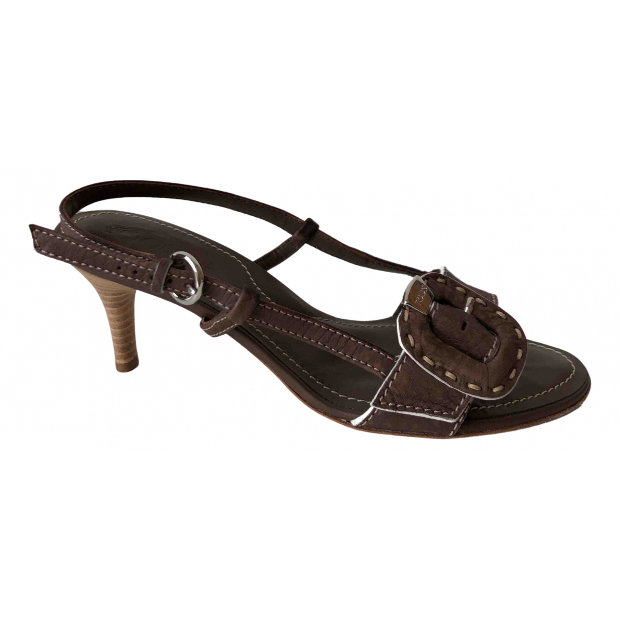 Sandalias romanas de Cuero Tod's