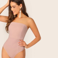 Form Fitted Tube Bodysuit