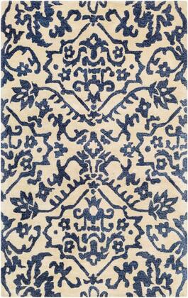 SMI2166-913 9' x 13' Rug  in Khaki and Navy and