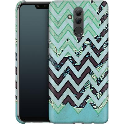 Huawei Mate 20 Lite Smartphone Huelle - Electric Ink von caseable Designs