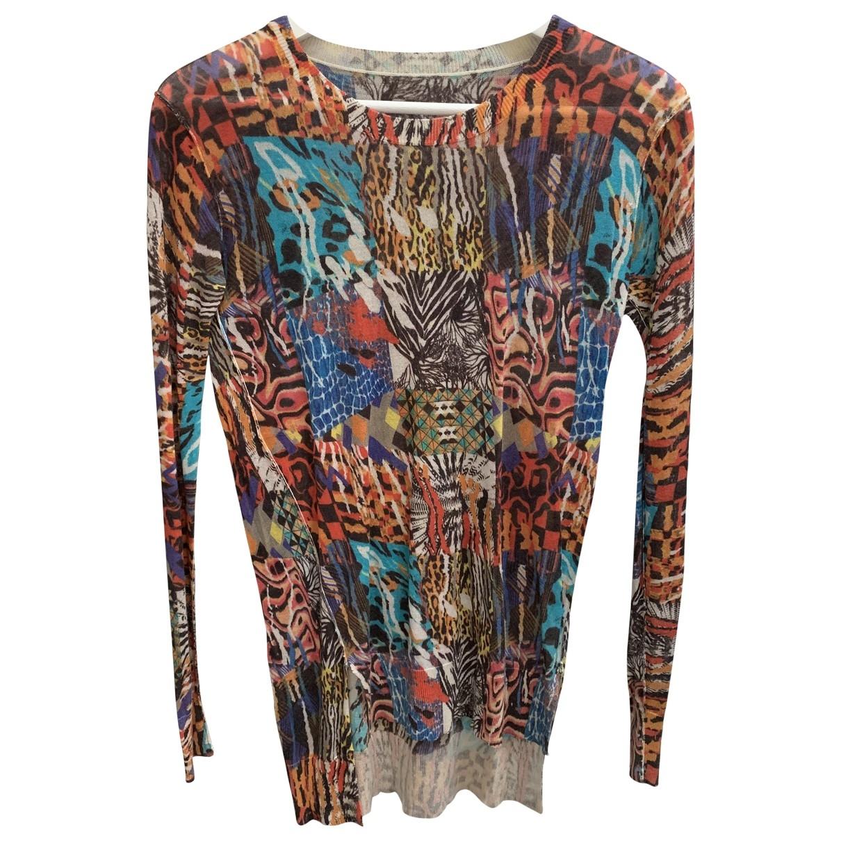Diesel Black Gold \N Multicolour Cotton Knitwear for Women 40 IT