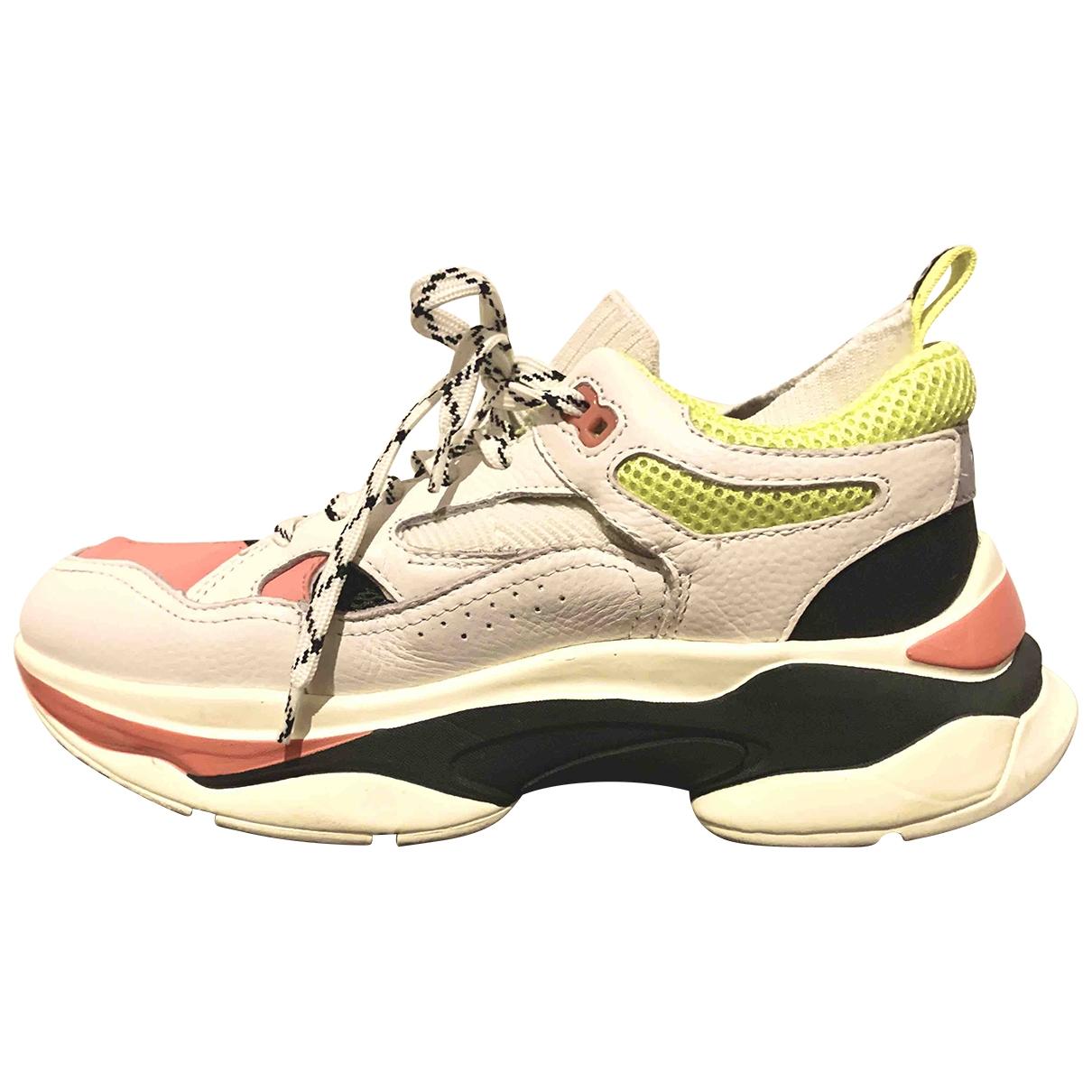 Brandblack \N Sneakers in Leder