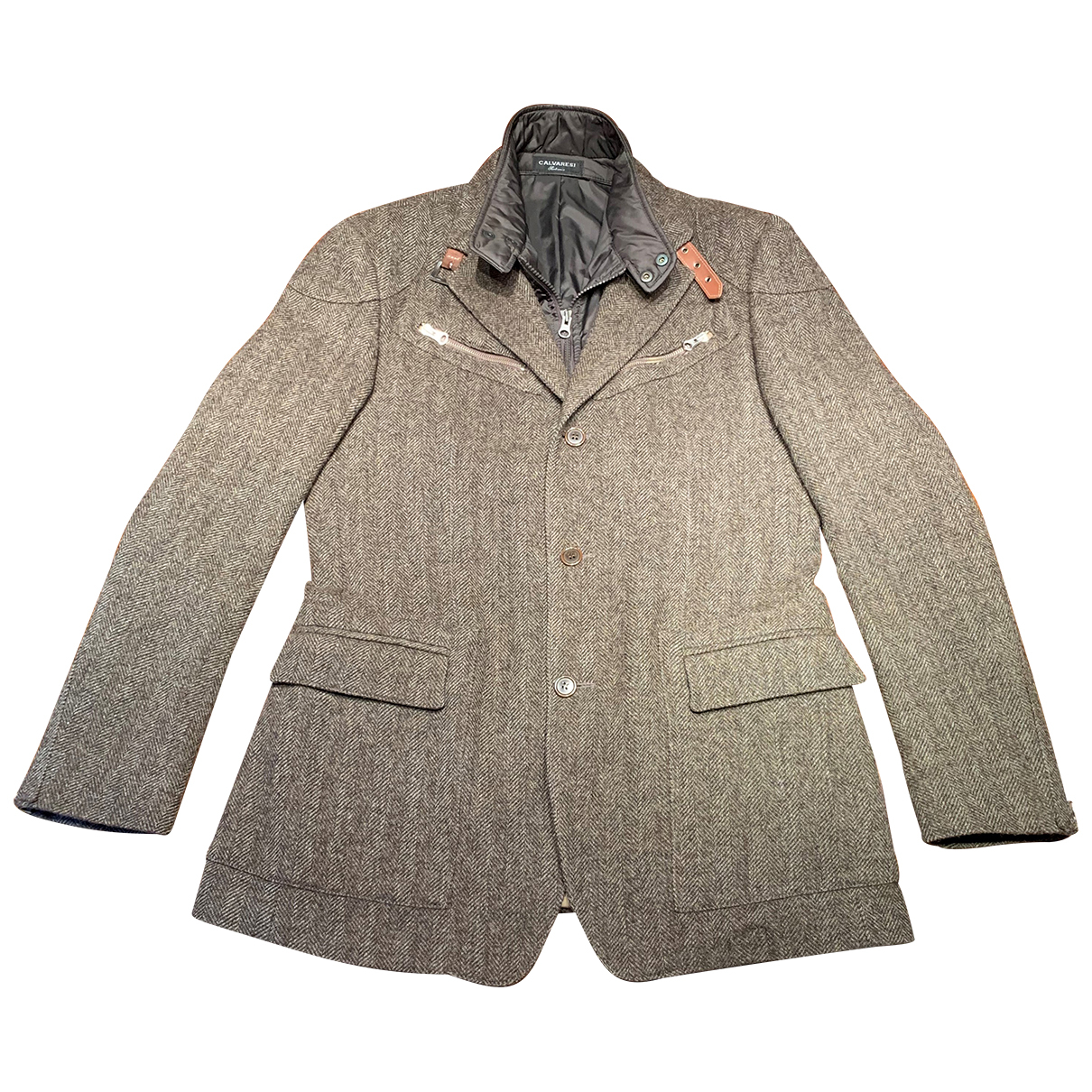 Non Signé / Unsigned N Wool jacket  for Men 50 IT