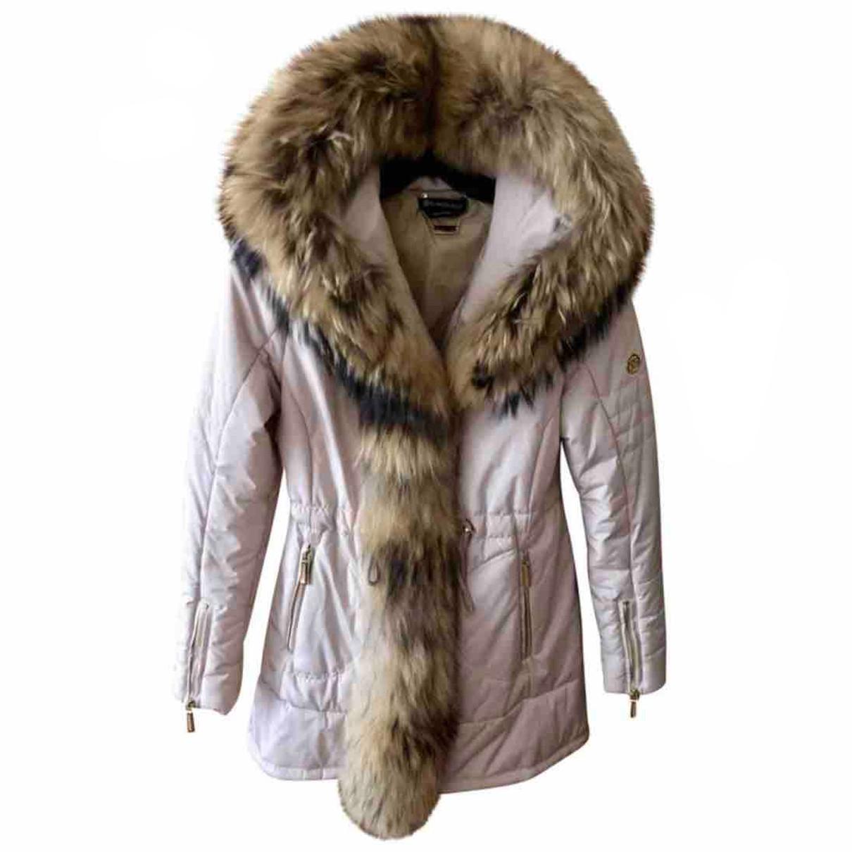 Autre Marque - Manteau   pour femme en fourrure - beige
