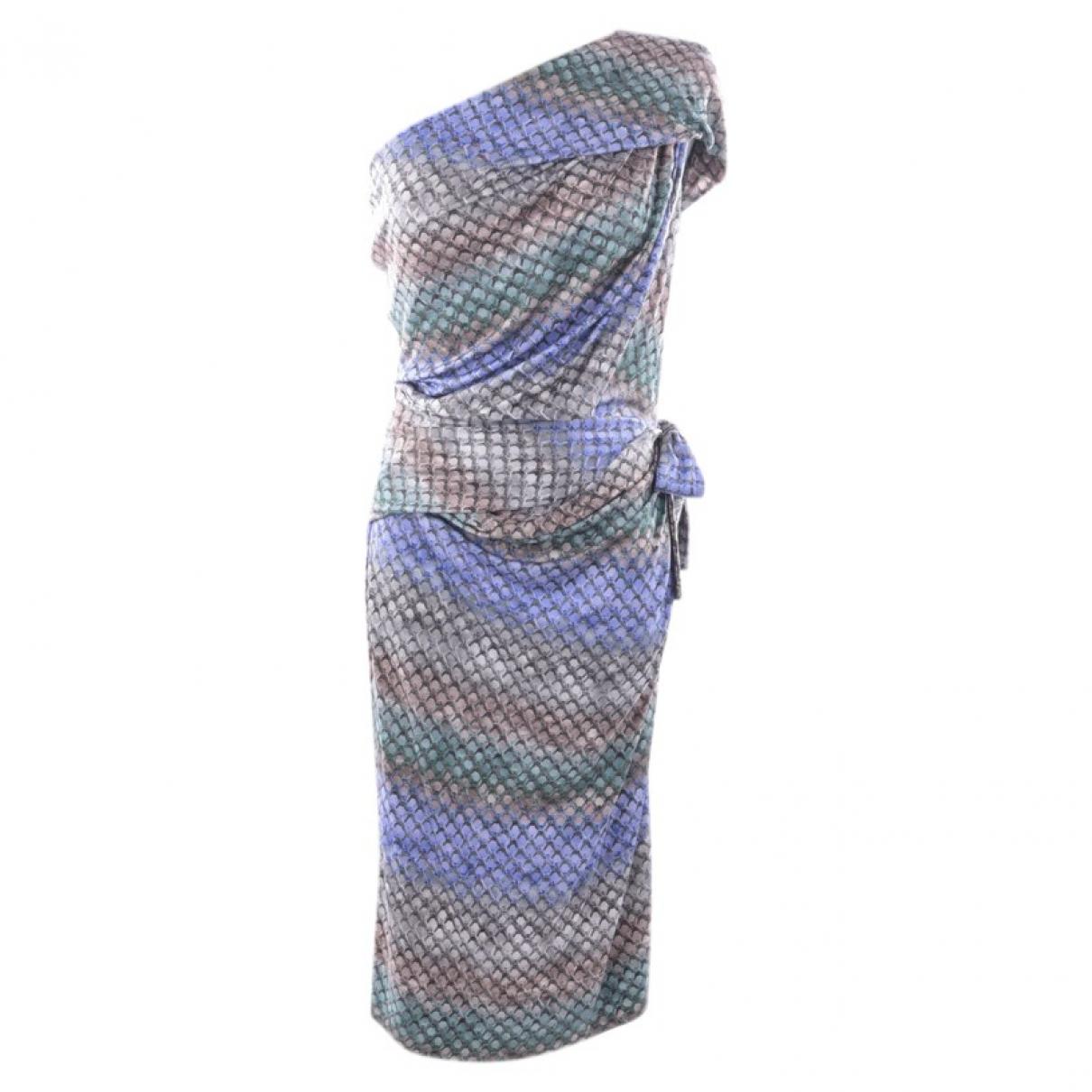Peter Pilotto - Robe   pour femme en soie - gris