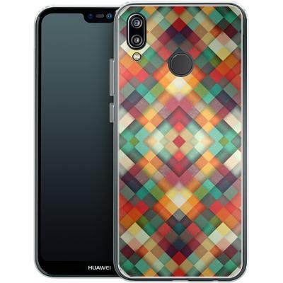 Huawei P20 Lite Silikon Handyhuelle - Time Between von Danny Ivan