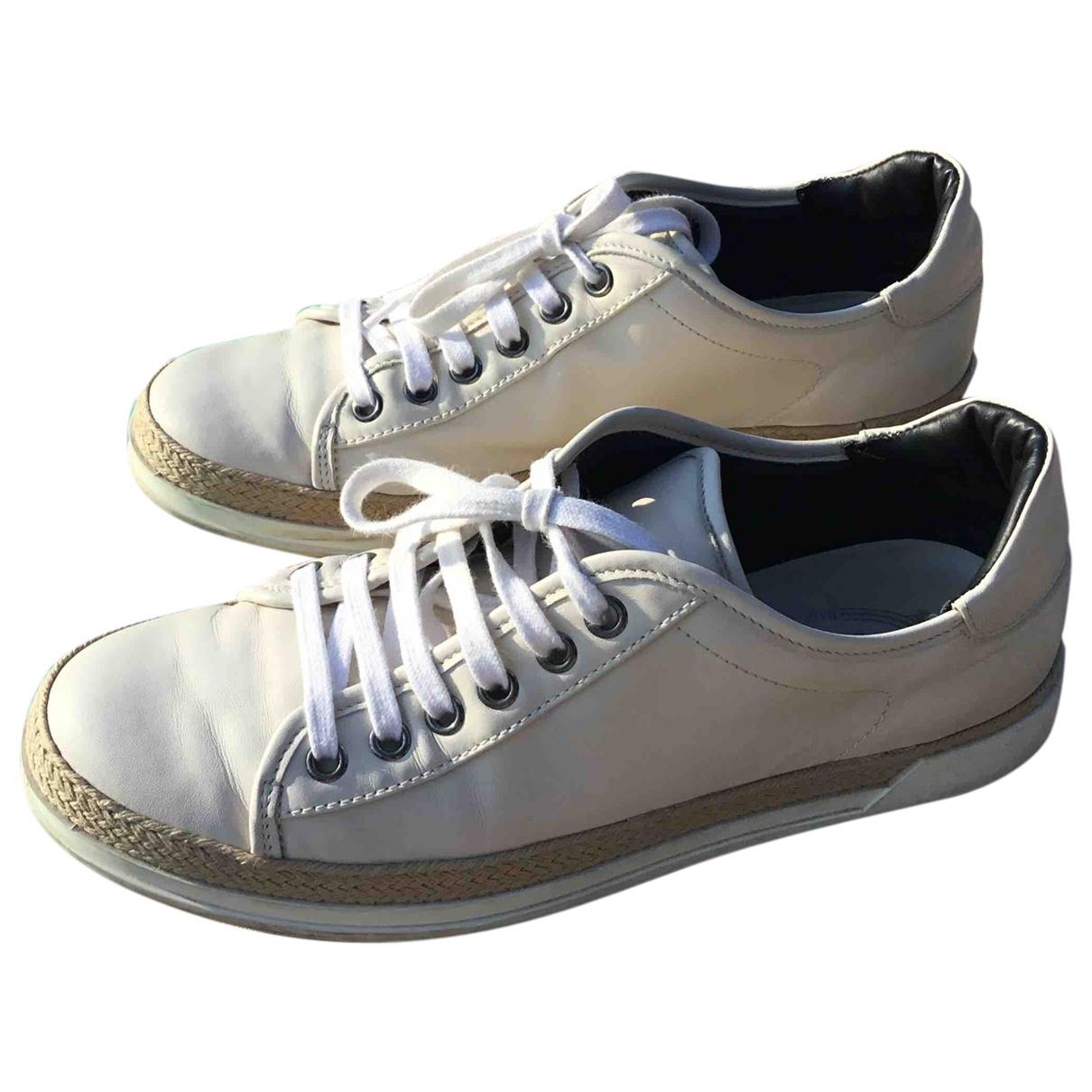 Tods \N Sneakers in  Beige Leder
