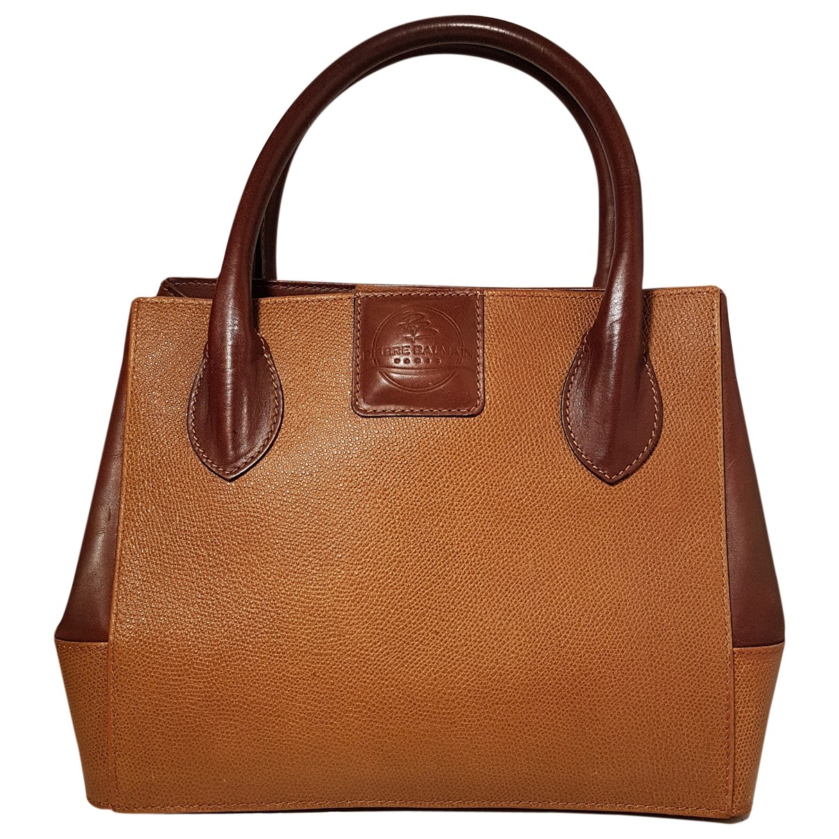 Pierre Balmain \N Camel Leather handbag for Women \N