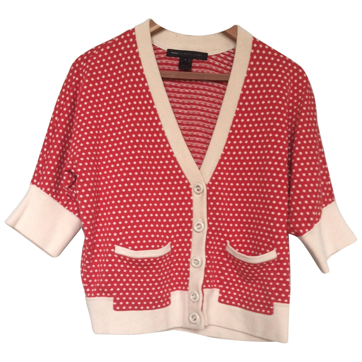 Marc By Marc Jacobs \N Red Cotton Knitwear for Women L International