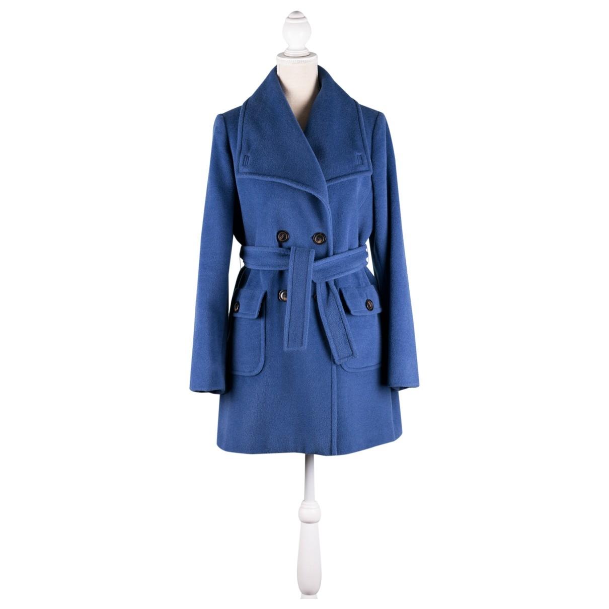 Marella - Manteau   pour femme en laine - bleu