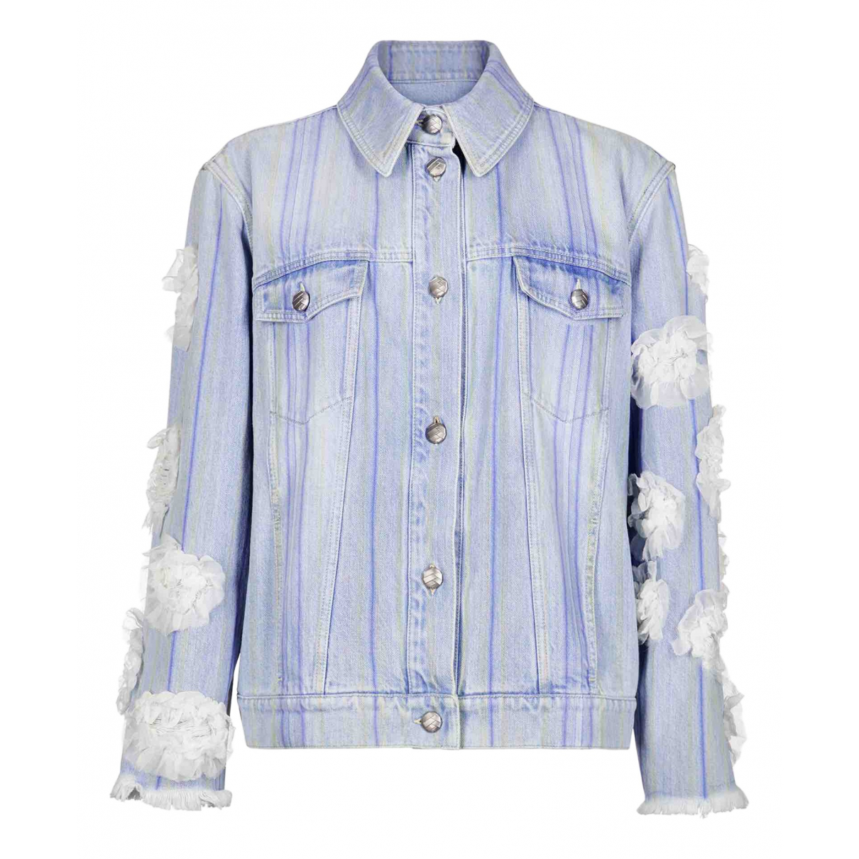 Chanel \N Blue Denim - Jeans jacket for Women L International