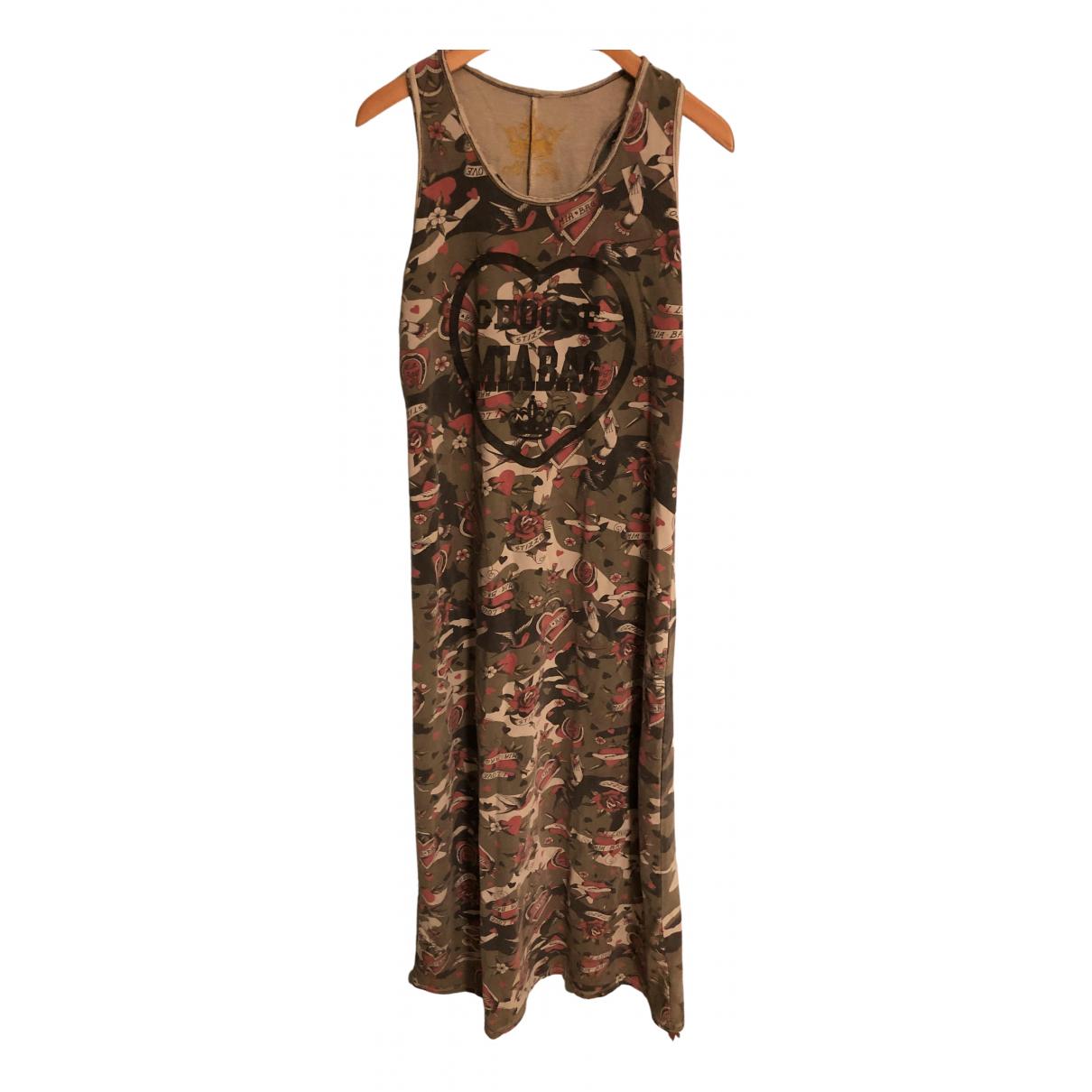 Mia Bag \N Kleid in  Bunt Baumwolle
