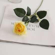 5 Zweige Kuenstliche Rose
