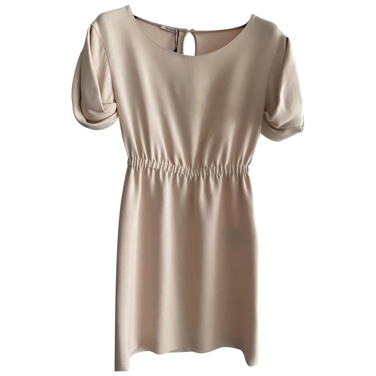 Miu Miu \N Pink dress for Women 36 IT