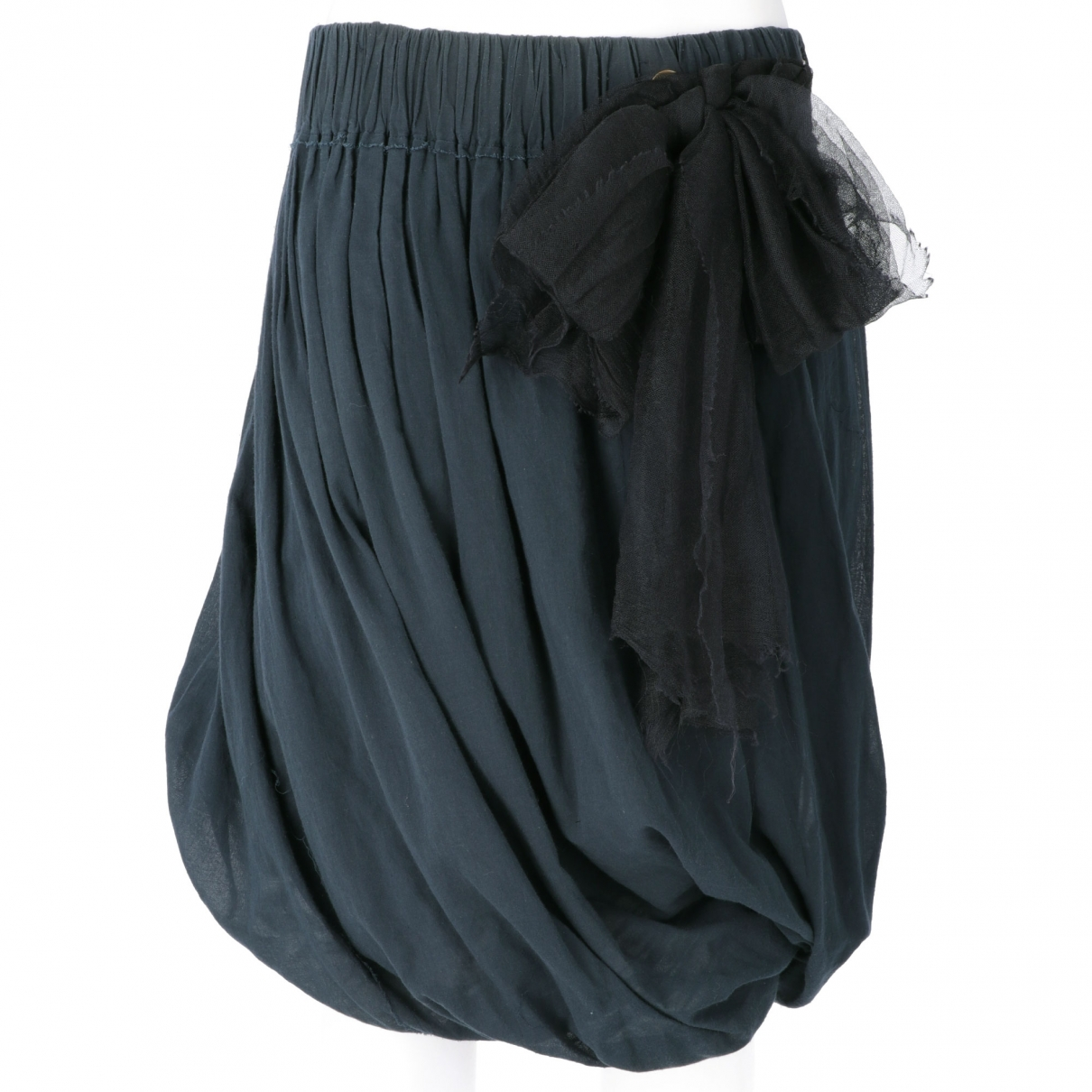 Lanvin - Jupe   pour femme en coton - bleu