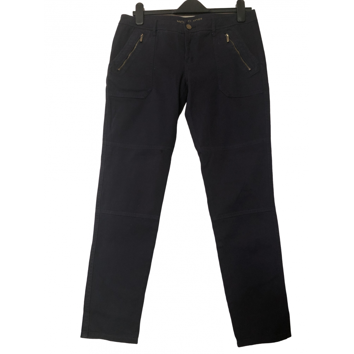 Michael Kors \N Navy Cotton Jeans for Women 28 US