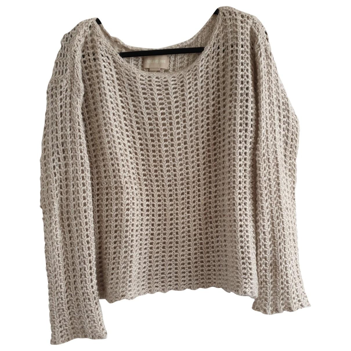 Zadig & Voltaire \N Beige Wool Knitwear for Women 38 FR